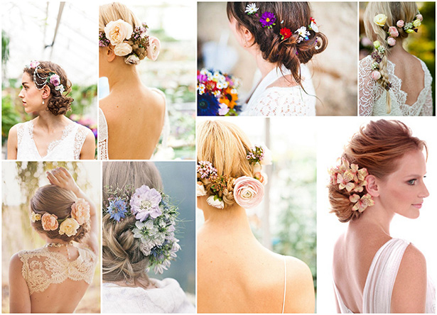 Живые цветы в волосы на свадьбу купить синие розы киев купить синие розы