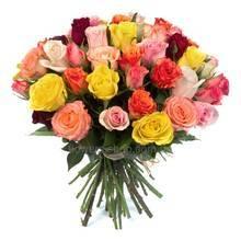 Букет из роз разных сортов