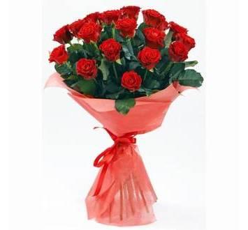 Букет из роз Эльторо, в красной упаковке