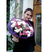 Delivery of a bouquet to Lviv