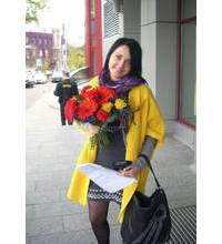 The bouquet delivery to Dneprodzerzhinsk