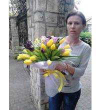 Tulips with delivery to Nikolaev