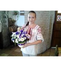 Цветочная корзинка в Ужгород