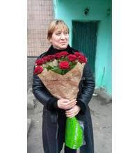 Букет роз Престиж доставлен в Черновцах
