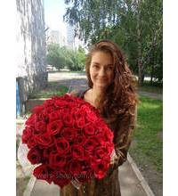 Most fresh red roses with delivery to Chernigov