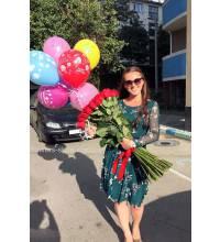 Доставка импортных роз в Херсон