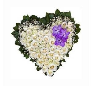 """Квіткове серце """"Білі ночі"""""""