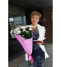Цветы доставлены получателю в Харькове