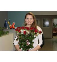 Roses delivery to Vinnitsa