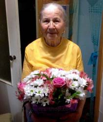 Delivery bouquet for mom and grandmother