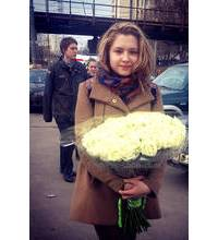 Букет троянд доставлений в Кременчуці