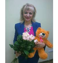 Taleo Roses and teddy bear brought to the White Church