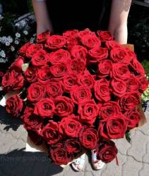 Bouquet from 51 roses delivery to Cherkasy